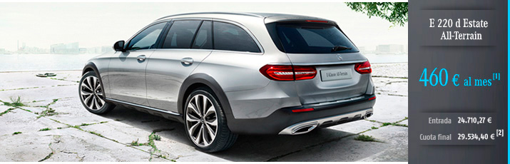 Oferta Mercedes Clase E 220 d Estate All-Terrain con Mercedes-Benz Alternative